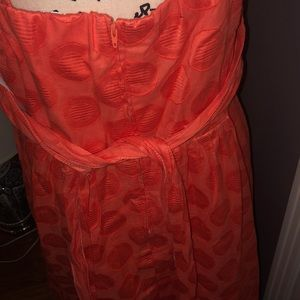 Dress Barn Dresses - Coral color dress with thin straps